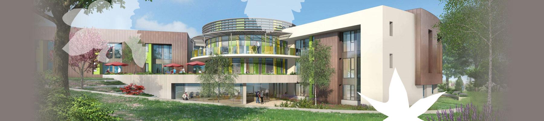 Hôpital Belnay - nouveau bâtiment Tournus
